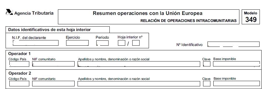 DATOS DECLARADOS MOD349