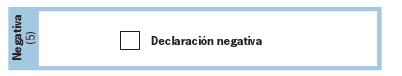 NEGATIVA MOD111