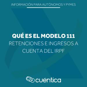Guía sobre el modelo 111 de Hacienda