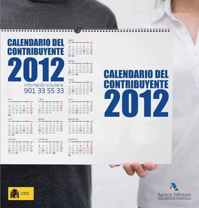 Calendario Contribuyente 2012