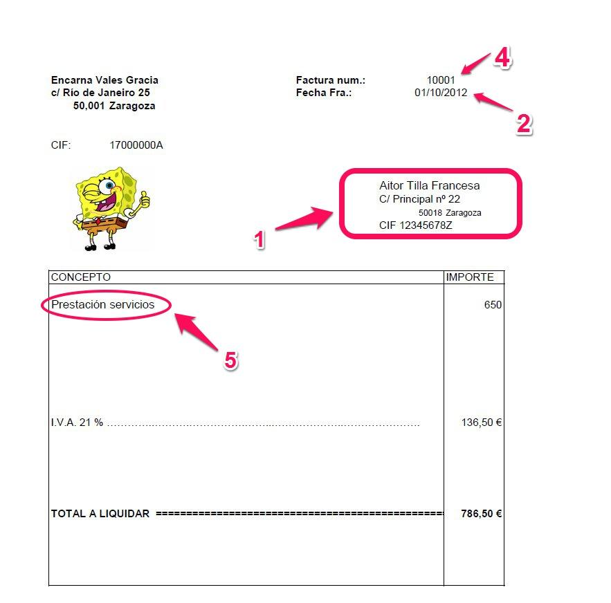factura registrada en otro ingreso