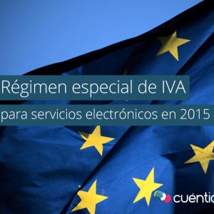 Régimen especial de IVA para servicios electrónicos en 2015