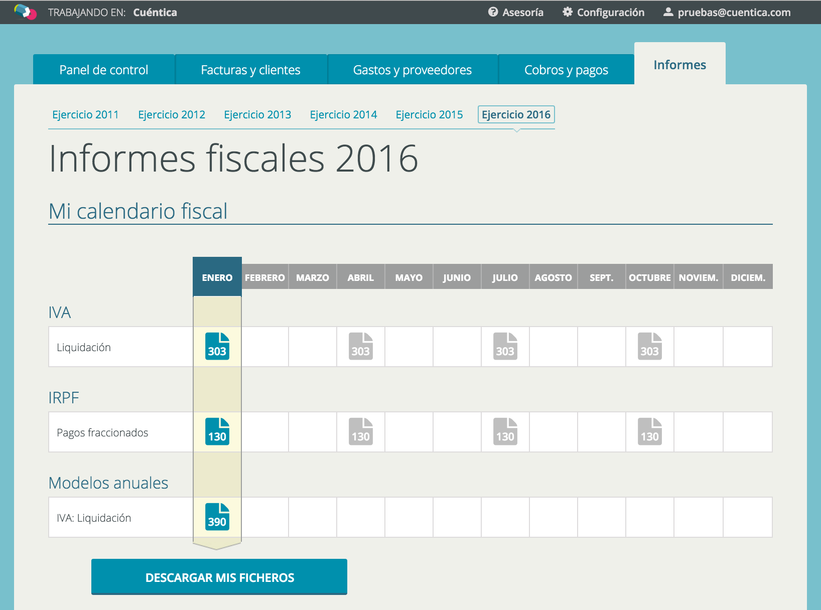 Informes T4 2015 - Cuéntica