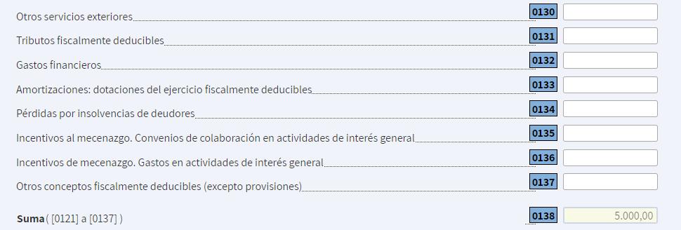 Registrar los gastos de suministros en una declaración de la renta de un autónomo.