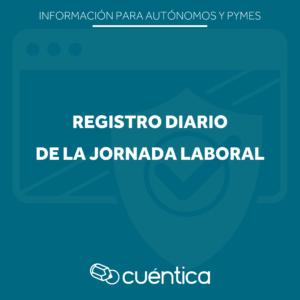 Registro jornada laboral