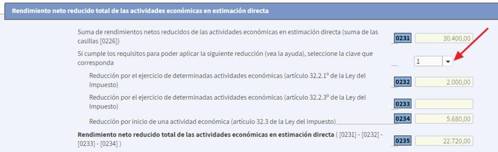 Reducción por autónomo dependiente en la Declaración IRPF de la renta