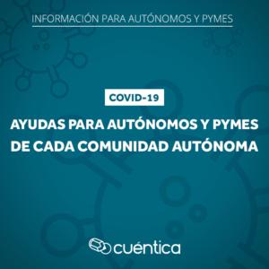 Ayudas de Comunidades Autónomas a empresas por el coronavirus