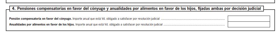 Modelo 145: pensiones