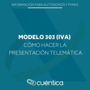 Modelo 303 IVA - Cuentica