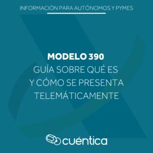 Guía sobre qué es y cómo presentar el modelo 390 - Hacienda