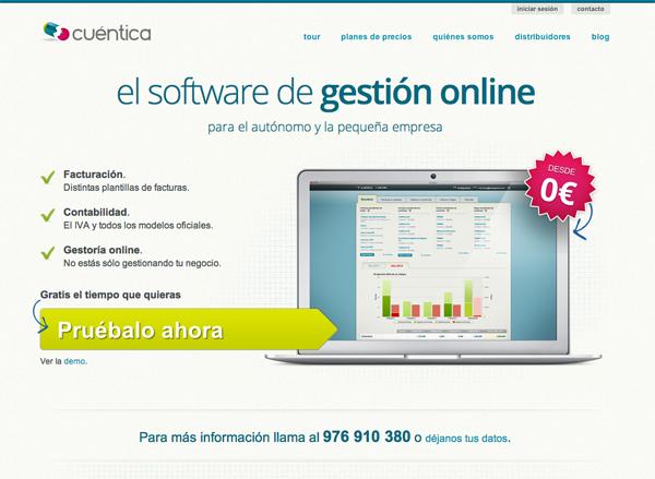 Rediseño de Cuentica.com