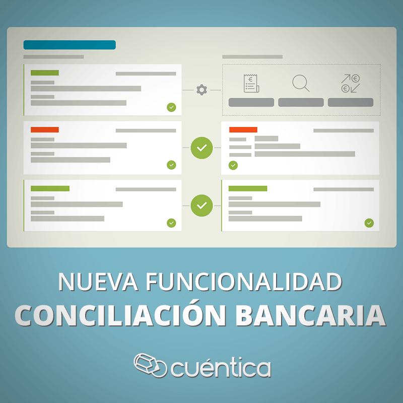 Nueva funcionalidad: conciliación bancaria