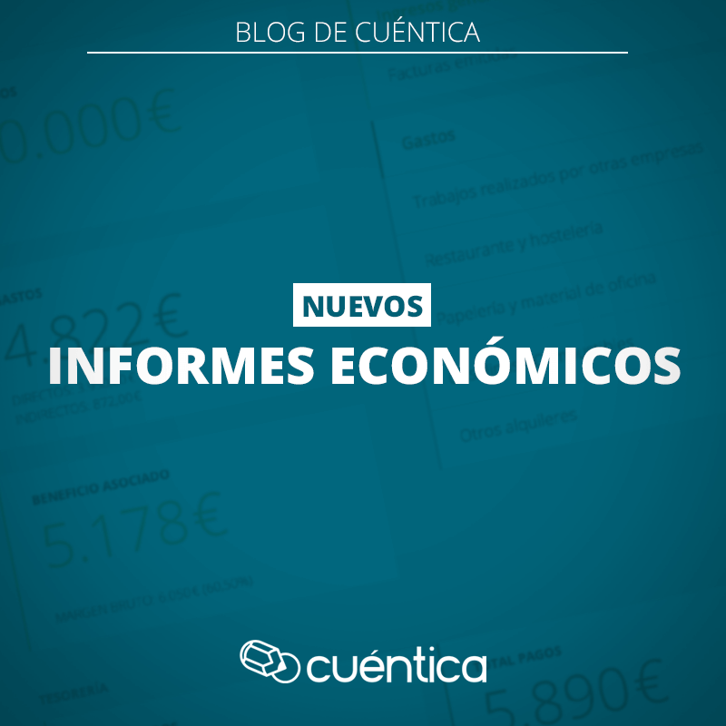 Nueva funcionalidad: informes económicos